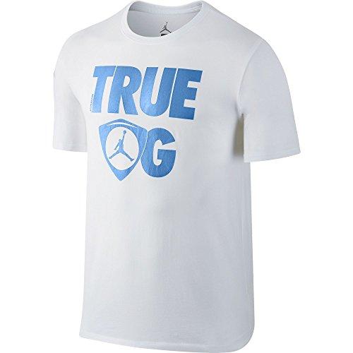Air-Jordan-Retro-14-True-OG-Mens-T-Shirt-WhiteBlue-801120-100