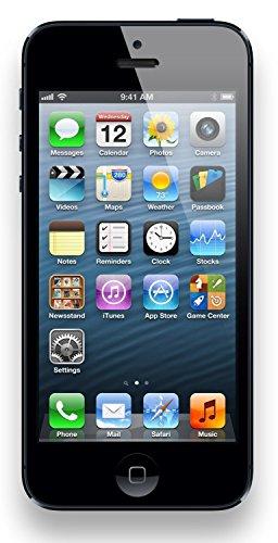 Apple iPhone 5, GSM Unlocked, 64GB - Black (Refurbished)]()