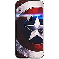 GADGETS WRAP Apple iPhone 10 iPhone X/iPhone Xs Printed Shield Skin for Back Only -CO-