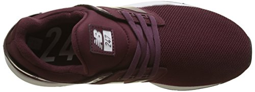 Femme burgundy New nb Burgundy Metallic Ua 247v2 Baskets Rouge Balance wwqvg1t