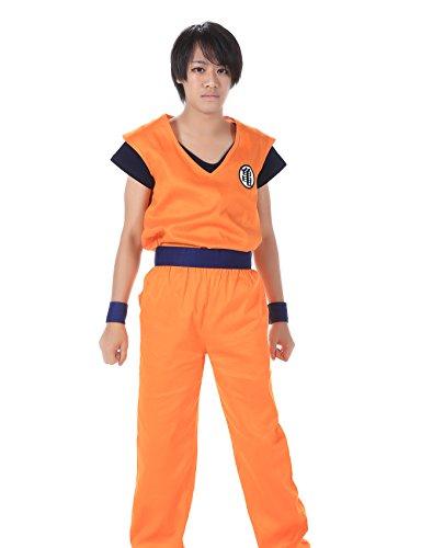 ICEMPs DBZ DragonBall Z Kakarot Son Goku Training Uniform Kaio V1 Set M