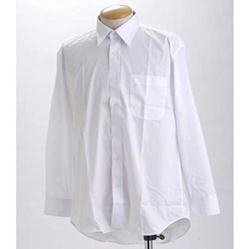 生むアフリカ制限ブラック & ホワイト 長袖百貨店仕様 Yシャツ OZ517008 LLサイズ 2枚セット