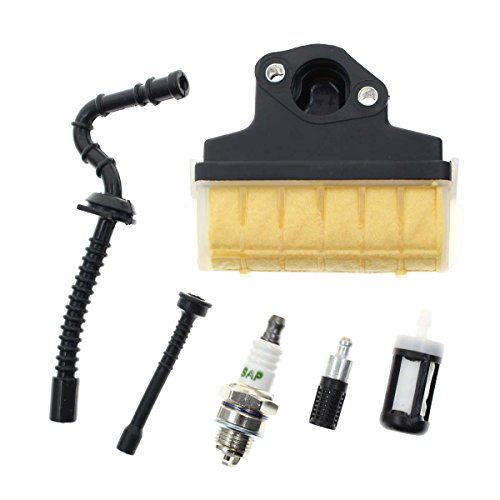 Chainsaw Plug - Carbhub Air Filter Spark Plug Fuel / Oil Line Filter for STIHL 021 023 025 MS210 MS230 MS250 Chainsaw