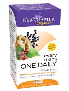 New Chapter Every Man's One Daily 72 tabs ( Multi-Pack) by New Chapter