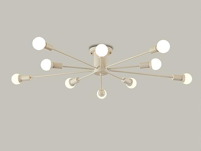 Plafoniere Con Lampadine : Ciffost vicino a plafoniere in stile industriale lampadari con