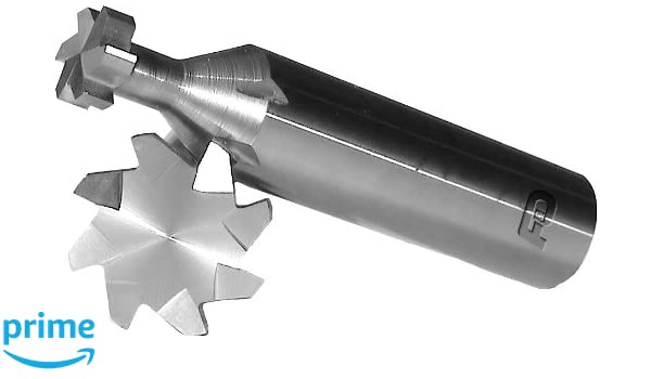 F/&D Tool Company 35381 Woodruff Keyseat Cutter 7//8 Diameter Shank Type Solid Carbide 10 Number of Flutes 5//32 Face Width 2 1//4 Overall