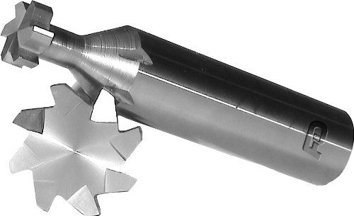 10 Number of Flutes Shank Type F/&D Tool Company 35389 Woodruff Keyseat Cutter 1 Diameter 2 1//4 Overall 7//32 Face Width Solid Carbide
