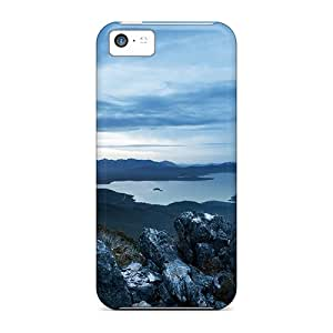 Durable Protector Case Cover With Evening At Lake Pedder Hot Design For Iphone 5c