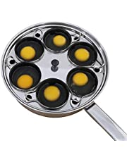 Egg Poacher Pan - Stainless Steel Poached Egg Cooker – Perfect Poached Egg Maker – Induction Cooktop Egg Poachers Cookware Set