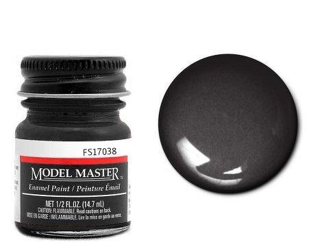 Testor Corp. Gloss Black Enamel Paint .5 oz bottle FS17038