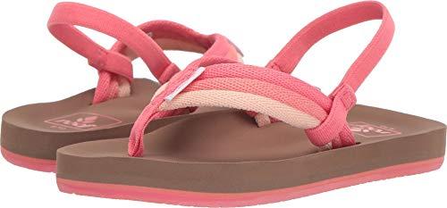 - Reef Girls AHI Beach Sandal, Raspberry, 910 M US Little Kid