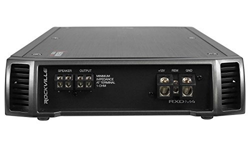 Rockville RXD-M4 6000 Watt/3000w RMS Mono Class D 1 Ohm Amplifier Car Stereo Amp by Rockville (Image #2)