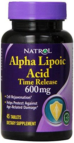 Natrol Alpha Lipoic Tablets 45 Count