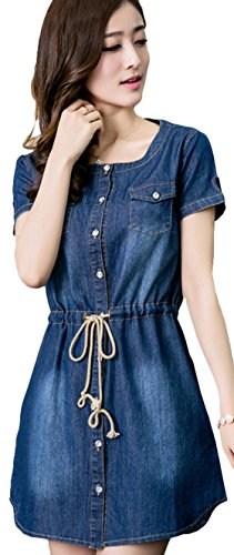 Youhan Womens Summer Sleeve Fitted product image