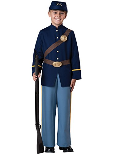 InCharacter Costumes Civil War Soldier Costume, Size