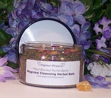 Magickal Cleansing Herbal Bath Kit.