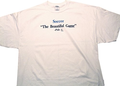 Pele Quote Funny Soccer T-Shirt Large - T-shirt Soccer Quote