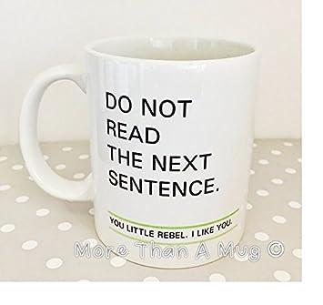Rebel Mug Funny Cadeau Lecture Secret Santa De MqzSUVpG