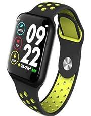 Relógio Inteligente F8 SmartWatch Monitor Cardíaco Monitor Sono Pressão Sangue iOS Android