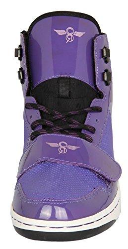 Creative Recreation Women Black/Purple W Cesario Black/Purple WCR432-BLACKPU K8JAuuEs7