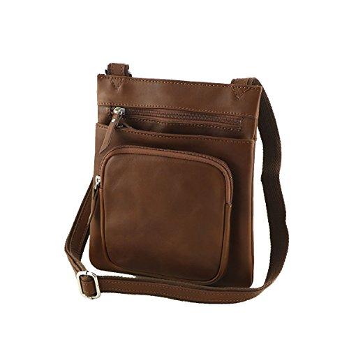 marrón Mega marrón Tuscany hombro para al hombre Bolso F0fFqw8P