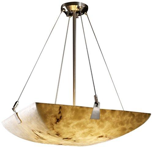 Justice Design Group Lighting FAL-9641-25-NCKL-LED3-3000 LumenAria-Tapered Clips 21