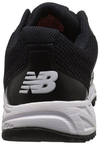 New Balance Mens MU950V2 Umpire Low Shoe, Black/White, 10.5 2E US Black/White