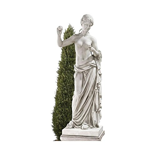 Design Toscano Venus of Arles Greek Goddess Statue, Grand, 38 Inch, Polyresin, Antique Stone - Faux Marble Statues