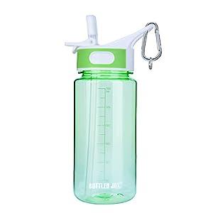 BOTTLED JOY BPA-Free Tritan Sport water bottle (Green, 20 oz)