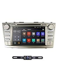 Android 8.1 Quad Core Car DVD Player Toyota Camry 2007 2011 Aurion 2006 2011 8 pulgadas Pantalla GPS Navi BT Radio RDS DTV USB Android   iPhone Mirrorlink SWC Cámara de vista trasera Mapa de EE. UU.