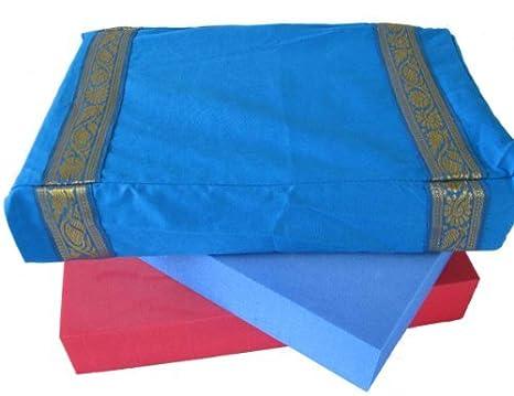 Amazon.com : Yoga Malai 100% Cotton Yoga Block Cover - Sky ...