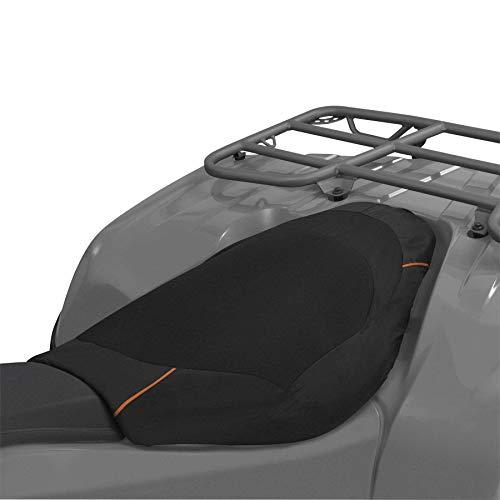 (Classic Accessories QuadGear Deluxe ATV Seat Cover, Black)