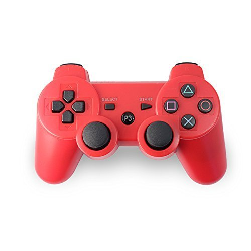 4 opinioni per AMGGLOBAL® Red Portable Wireless Rechargable Bluetooth Gamepad Remote Joystick