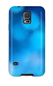 Best 2826501K59168013 Excellent Galaxy S5 Case Tpu Cover Back Skin Protector Abstract Blue