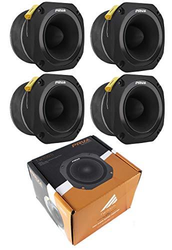 (2) PRV Audio TW700Ti Titanium Bullet Pro or Car Super Tweeter TW700 8 ohms 9600W 2 Pair