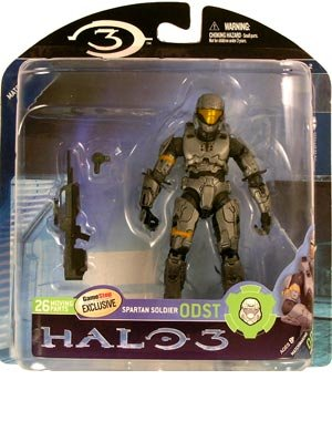Halo 3 Mcfarlane Toys Series 2 Exclusive Action Figure Spart