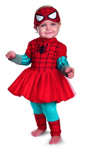 disguise costumes marvel spider girl kutie spiderman baby