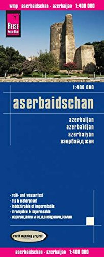 Azerbaijan 1:400,000 Travel Map, waterproof REISE