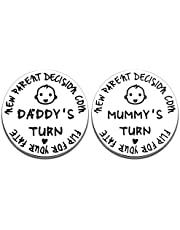 Funny New Baby Gift for dad mom Pregnancy Gifts for Dad Mom Pregnancy Gifts First Time Moms Mothers Day Valentine's Day Gift New for Daddy Mummy Pregnancy Gifts for Women mom to be Gift