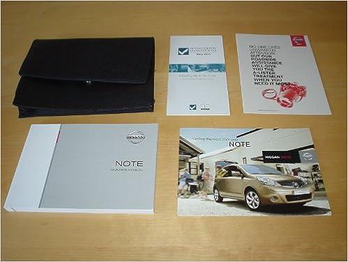 Nissan Note Owners Manual Handbook Cw Wallet 2004 2012 14