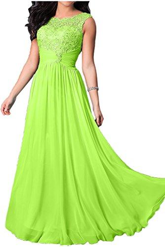Vestido para trapecio Topkleider mujer Verde O106WSpd