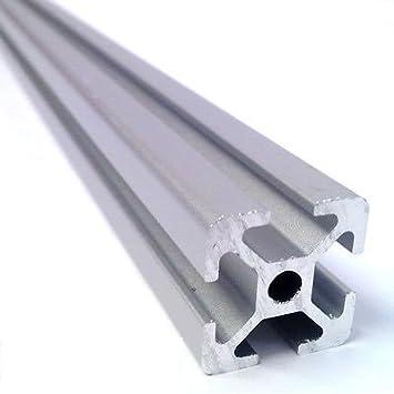 Anodised Aluminium Rail Profile Item 20x20, 400 mm: Amazon
