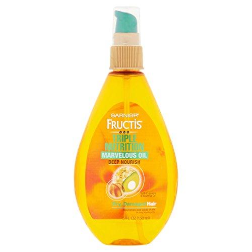 Garnier Skin and Hair Care Fructis Marvelous Oil Deep Nourish 5 Action Hair Elixir, 5 Fluid Ounce