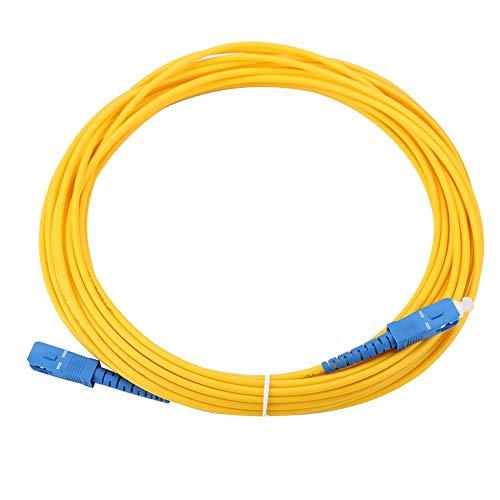 [해외]fosa 10m11yd SC에서 SC 듀플렉스 섬유 패치 코드 단일 모드 점퍼 케이블 간 플러그 성능 좋은 낮은 삽입 손실 및 큰 반환 손실 / fosa 10m11yd SC to SC Duplex Fiber Patch Cord Single Mode Jumper Cable Inter-Plug Performance Good Low Insert...