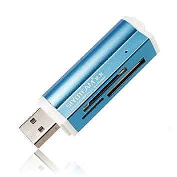 DyNamic USB Todo En 1 Lector De Tarjetas De Memoria Multi para ...