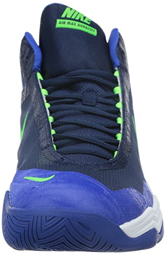 Nike Heren Air Max Lef, Mid Marine / Groen Strk-gym Royal-wit, 9 M Ons