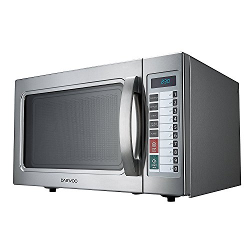 Daewoo Stainless Steel 1.0 Cu Ft Commercial Microwave Oven - Import