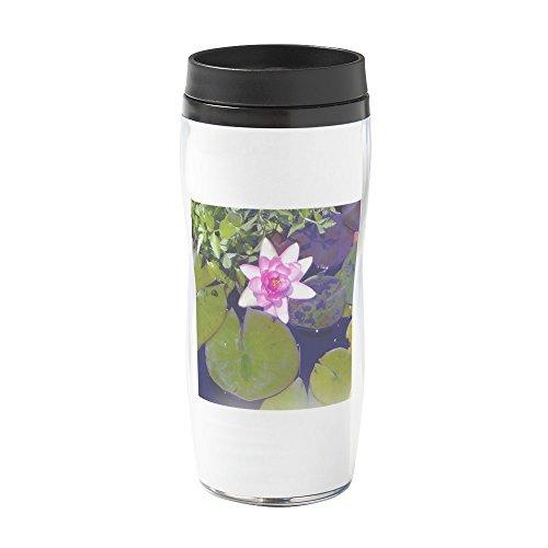 CafePress - Light Pink Waterlily - 16 oz Travel Mug