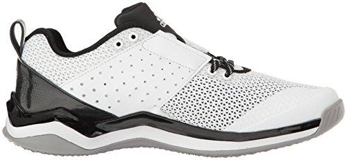 adidas Performance Herren Speed �? Wide Cross-Trainer Schuh Weiß / Silber Metallic / Schwarz