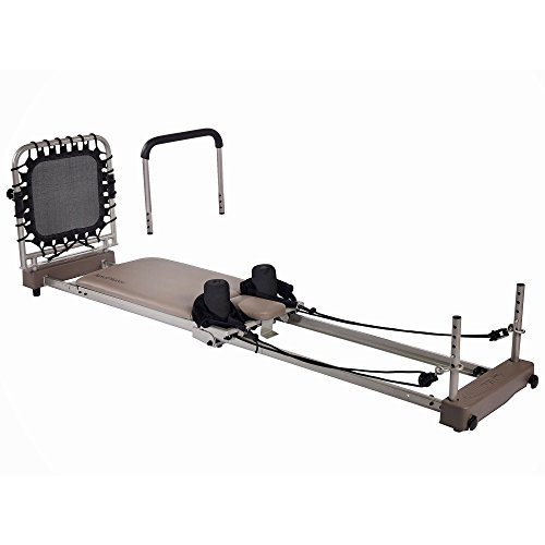 Stamina AeroPilates Reformer 369 Workout Fitness Machine with Cardio Rebounder by Stamina